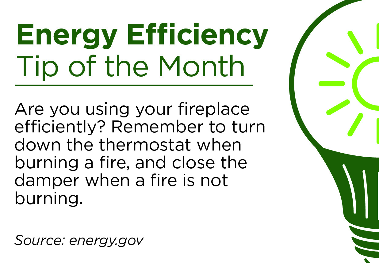 February Energy Efficiency Tip of the Month