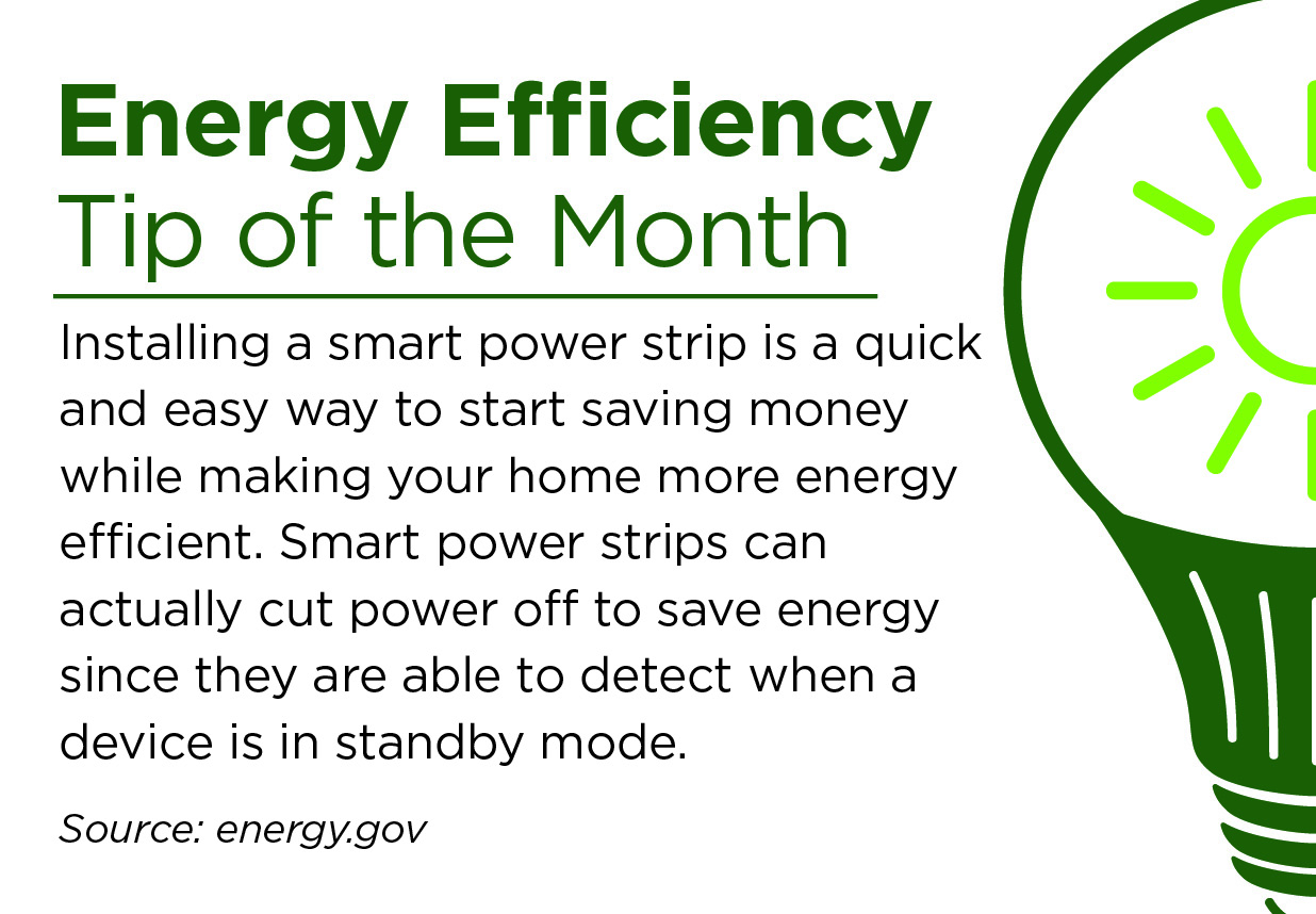 August Energy Efficiency Tip of the Month