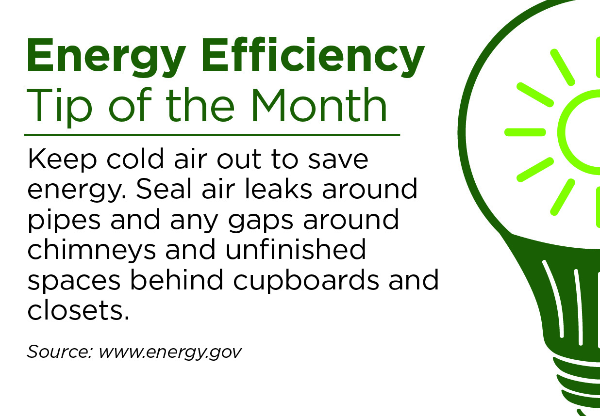 November Energy Efficiency Tip of the Month
