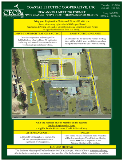 Thumbnail image of the annual meeting details flyer