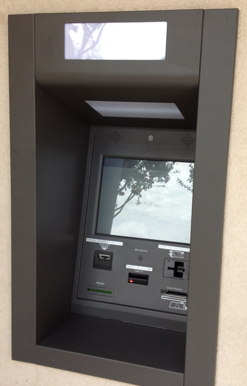 Outdoor payment kiosk image